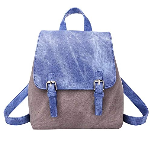 Image Unavailable. Image not available for. Color  AgrinTol Women s Mixed  Colors College Style Fashion Bag Backpack Shoulder ... 16f98ab08d6d5
