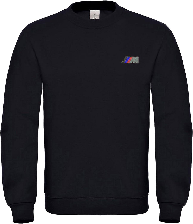 6061 Power BMW Broderies Noir Sweat-Shirt Super la qualit/é Prime M