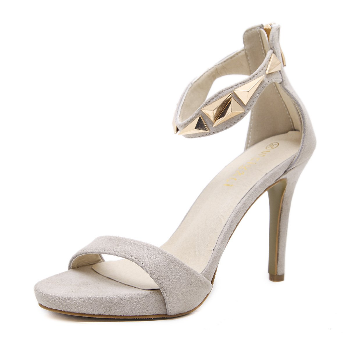 summer European and American fashion high heel sandals and comfortable sandals. RUGAI-UE Ladies with High Heels Sandals