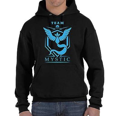 Desconocido Team Mystic Pokemon Go trainner - Sudadera con Capucha: Amazon.es: Ropa y accesorios