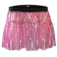 Gone For a Run Running Costume Tutu Skirt Glitter Sequined Tutu | Pink