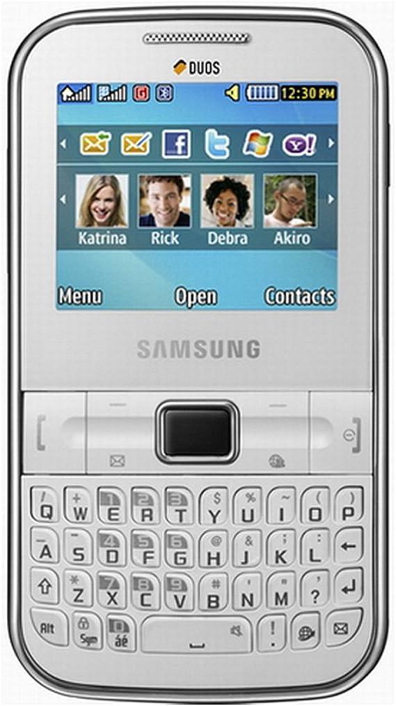 Amazon Com Samsung Ch T 322 C3222 Unlocked Dual Sim Phone With Qwerty Keyboard 1 3 Mp Camera And Music Player International Warranty Fuchsia Pink