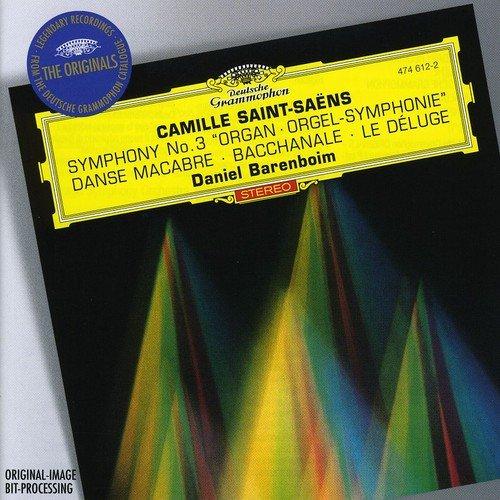 """Saint-Saens: Symphony No. 3 """"Organ"""" / Danse Macabre / Bacchanale / Le Deluge"""