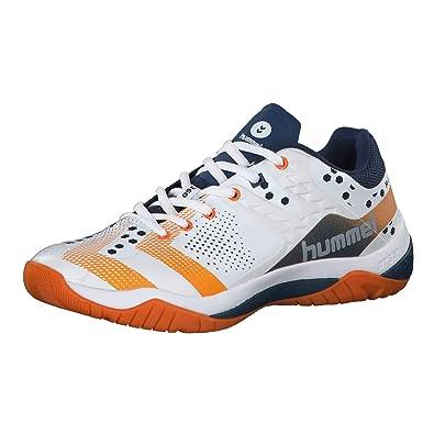 23660aa9cb6 Hummel Unisex-Erwachsene DUAL Plate Power Multisport Indoor Schuhe, Blau  (Poseidon 8616)