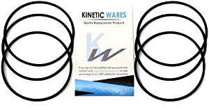 O-Rings – Compatible with Whirlpool WHKF-DWHV, WHKF-DWH & WHKF-DUF Water Filter (6 Pack)