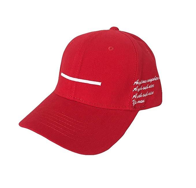 Wikibird Oudoor Hats Deportiva Estrellas Casual Sombreros y Gorras Moda Golf Sombrero Ocio Gorra de Beisbol Cap Tiras Blancas Color sólido: Amazon.es: Ropa ...