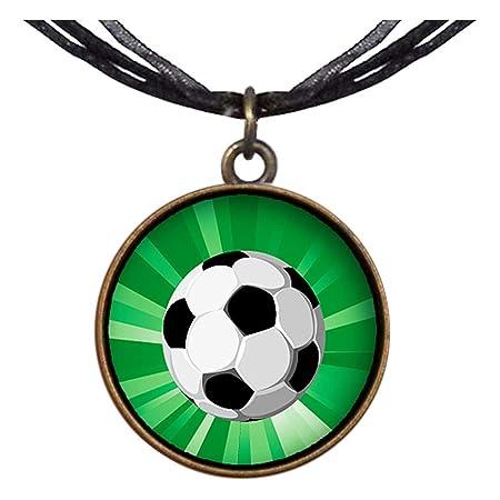 Estilo Retro de bronce GiftJewelryShop UEFA Euro con balón de ...