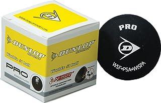Creativeminds UK Dunlop Pro Raquette de Sport Joueurs Avancés Double Dot WSF PSA Wispa Balles de Squash