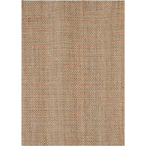 Safavieh Natural Fiber Collection NF455A Hand Woven Natural and Multi Jute Area Rug (9' x (Large Sisal Rugs)