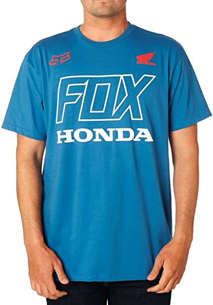 newest collection details for fashion styles Amazon.com: Fox Racing Honda T-Shirt-Dusty Blue-M: Clothing