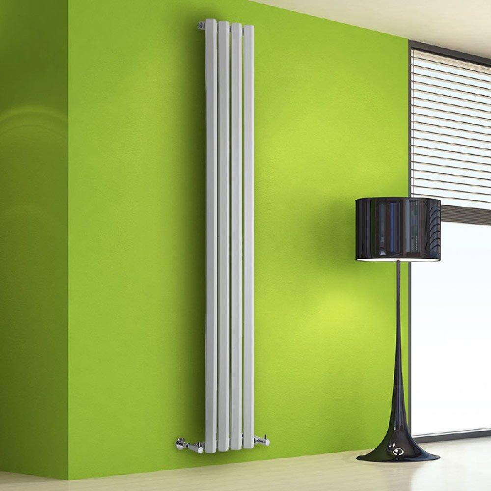 160 x 28 x 6,1cm 634 Watts Anthracite Hudson Reed Salisbury Radiateur Design Vertical