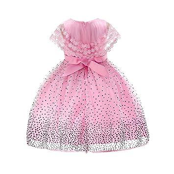 feiXIANG Bebé recién Nacido Ropa para niña Vestido de niña Vestido ...