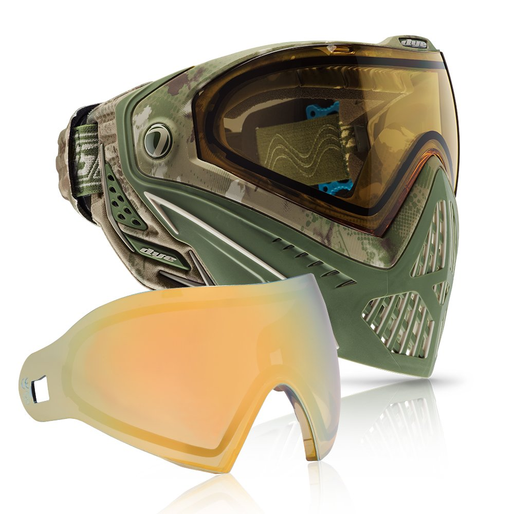 Dye i5 Paintball Goggle - DyeCam with Faded Sunrise Lens