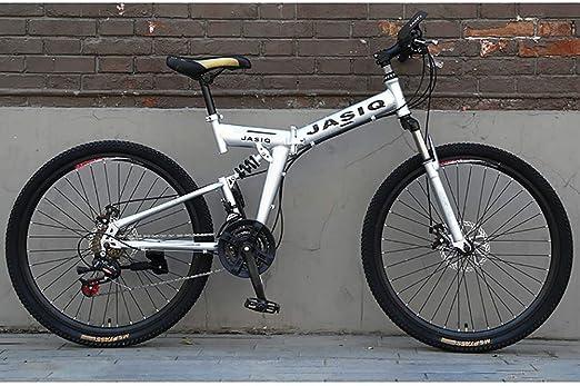 F-JWZS Unisexo Bicicleta de Montaña 21 Velocidades Doble ...