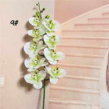 Benhai Flores Artificiales De Poliuretano Para Manualidades - Manualidades-con-flores-artificiales