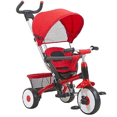 YUMEIGE triciclos Triciclo para niños Triciclo de empuje ...
