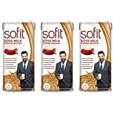 Sofit Milk - SOYA, Coffee Mocha 1L- (Pack of 12)