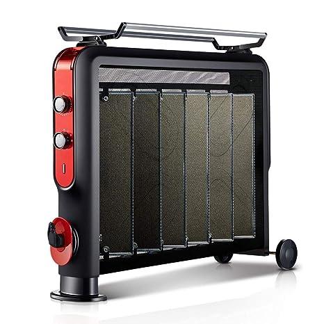 El panel de mica del calentador eléctrico, 6 disipadores de calor, 4 fuentes de