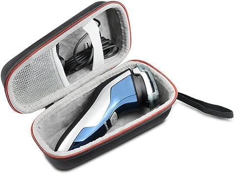 Duro Estuche Viajes Funda Bolso para Philips Power Touch PT860/16 S3110/06 S3510 S1510/04 Afeitadora eléctrica by AONKE: Amazon.es: Salud y cuidado personal