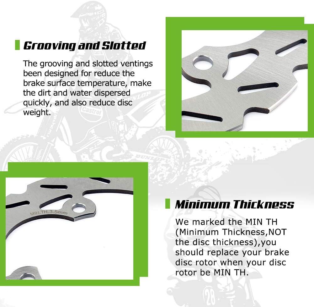 TARAZON 190 mm ATV Disque frein arri/ère pour LT-R450 Quadracer LTR450 2006 2007 2008 2009 2010 2011