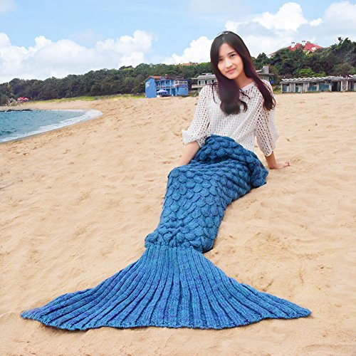 kele dreamer Mermaid Tail Blanket for Kid,Soft All Seasons Sleeping Mermaid Blankets Best Birthday, Christmas, New Year and All (71