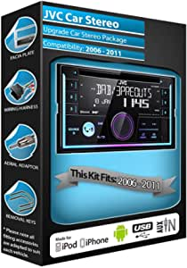 Ford Galaxy DAB Radio, Clarion estéreo Bluetooth Kit Plays ...