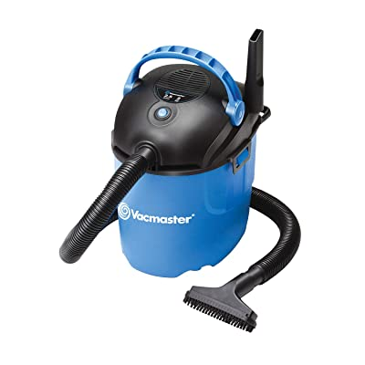 Vacmaster, VP205, 2.5 Gallon 2 Peak HP Portable Wet/Dry Shop Vacuum, Blue: Home Improvement