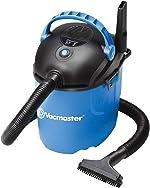 Vacmaster, VP205, 2.5 Gallon 2 Peak HP Portable Wet/Dry Shop Vacuum,