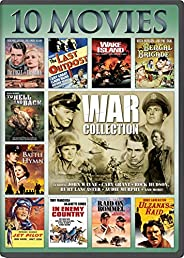 War, 10-Movie Collection: The Eagle and The Hawk / The Last Outpost / Bengal Brigad / Jet Pilot / Ulzana's