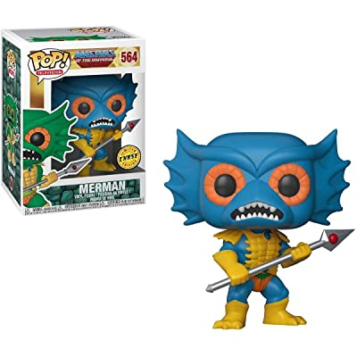 """FunKo POP! Masters of the Universe Merman 3.75"""" CHASE VARIANT Vinyl Figure: Toys & Games"""