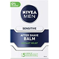 NIVEA MEN Sensitive After Shave Balm, Chamomile & Hamamelis, 100ml