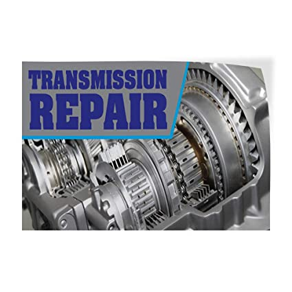 Auto Transmission Repair >> Amazon Com Decal Sticker Transmission Repair Auto Car