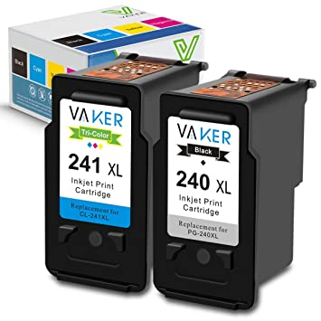 Amazon.com: VAKER - Cartucho de tinta de repuesto para Canon ...