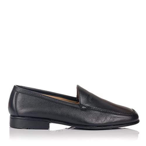 BAERCHI 3581 Mocasin Copete Piel Hombre: Amazon.es: Zapatos y complementos