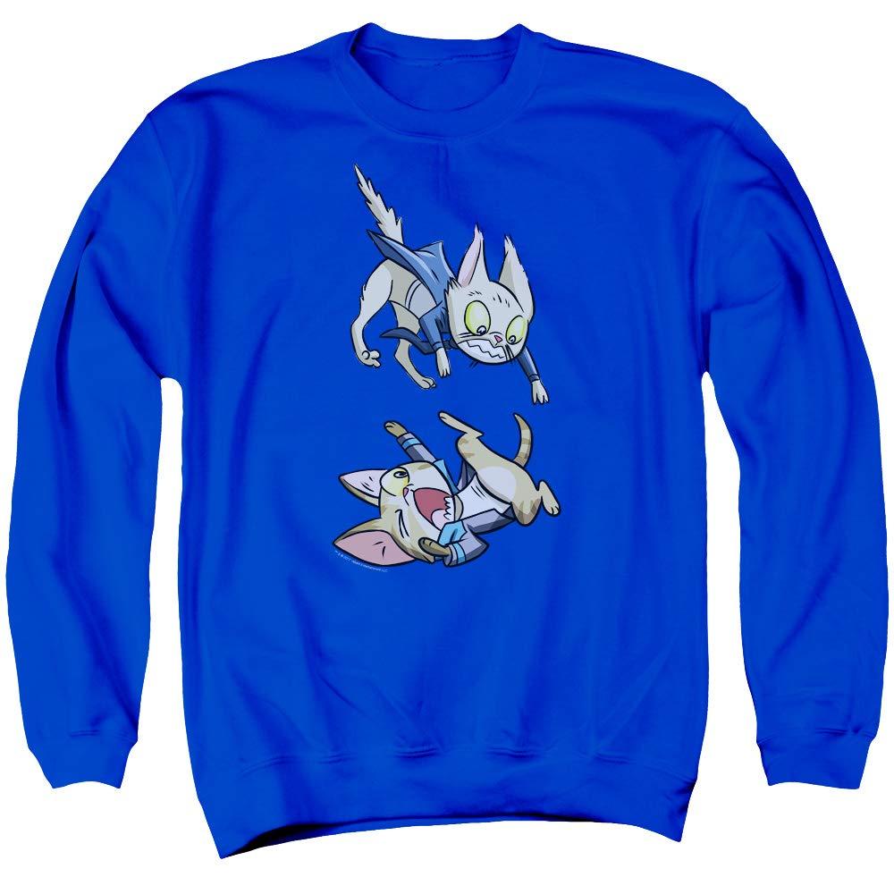 Valiant Comics - - Herren Harbinger Cat Cosplay Sweater