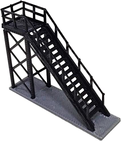 3D Printed 1:87 HO Scale Train Maintenance Station Train Railway Model Scene Decoration