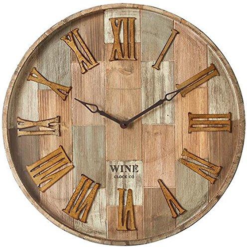 wine-barrel-wall-clock-28diameterx5d-natural