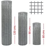 1' x 1' Welded Wire Mesh Galvanised Available In 24',36' & 48' - 15m or 30m Roll (36' (90cms) 30MTR Roll)