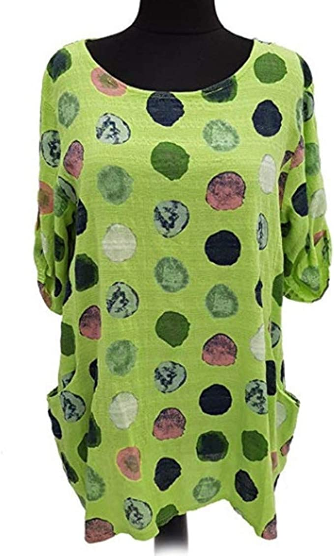 Luckycat Mujer Camiseta Manga de Murciélago Cuello Redondo Camisa Blusa Suelto Jumper Pullover Sudadera Básica Camiseta Elegantes Blusa de Primavera Oficina de Tops Camiseta Casual T-Shirt Otoño: Amazon.es: Relojes