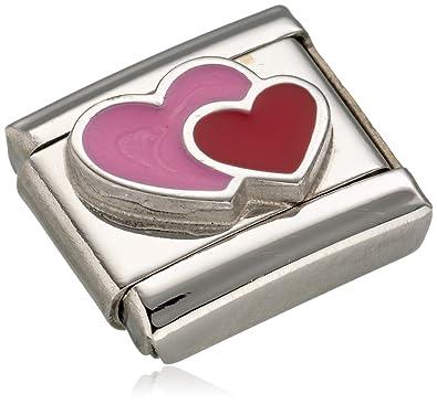 Nomination Composable Women's Charm Stainless Steel Enamel Double 330202/16 lFTaDV0X