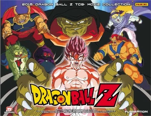 6 (Six) Packs of 2015 Dragon Ball Z: Movie Collection TCG Trading Card Game Sealed Booster Packs (6 Pack Lot of DBZ Cards) (Dragon Ball Z Movie Pack 3)