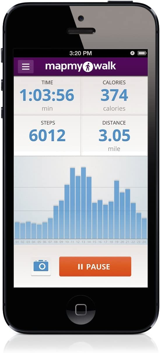SYNC Distance Activity Tracker Sync with MapMyWalk App to Capture Your Daily Distance Traveled and Calories Burned