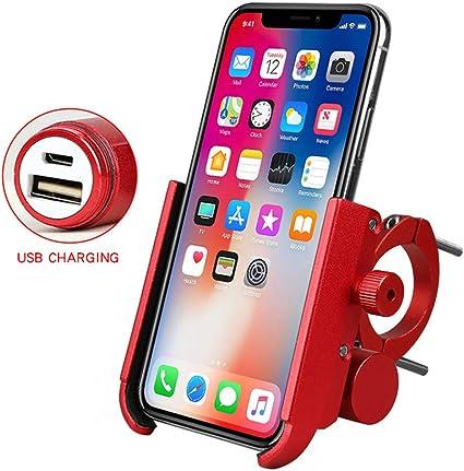 PJSQ - Soporte de móvil para Motocicleta, eléctrico, para ...