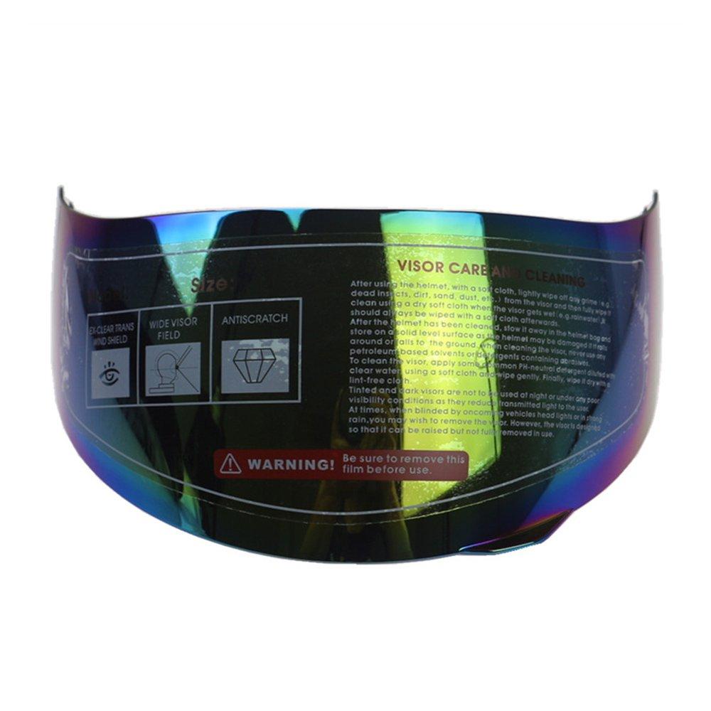 KKmoon Casco Moto Anti-graffio Integrale AntiGraffio per 316 902 AGV K5 K3SV Transparent