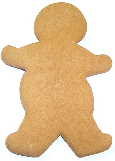 Scott S Cakes Undecorated Gingerbread Men Large 8 Inches