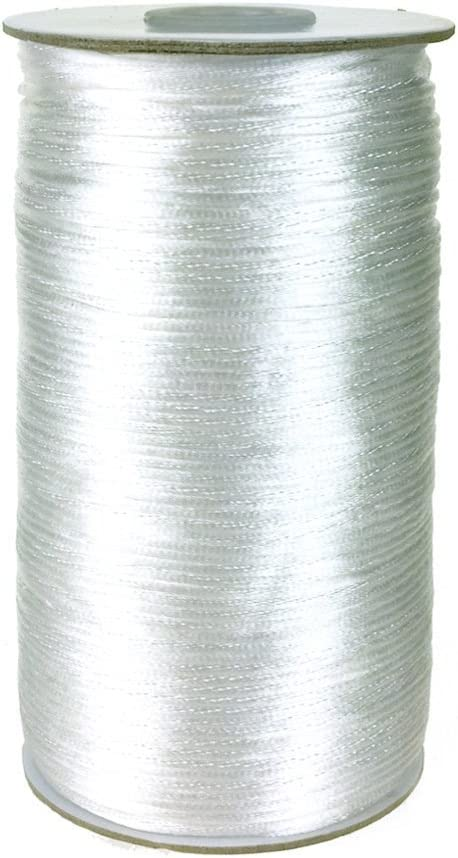 200 Yards Homeford Firefly Imports Satin Rattail Cord Chinese Knot 2mm Emerald Green