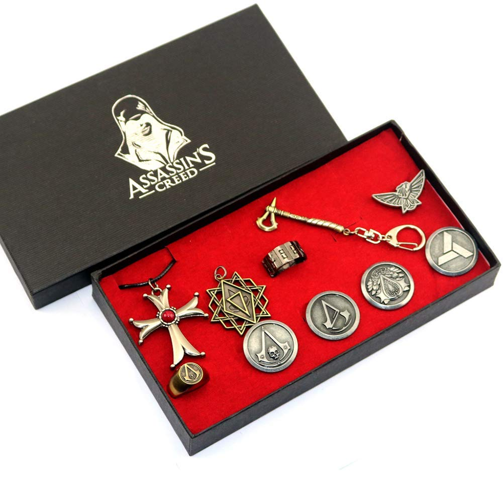 PIN Assassin S Creed Colgante Cruz Collar Assassin S Creed ...
