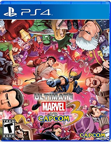 Ultimate Marvel Vs Capcom 3 Characters Costumes (Ultimate Marvel Vs. Capcom 3 - Playstation 4 [PlayStation 4])