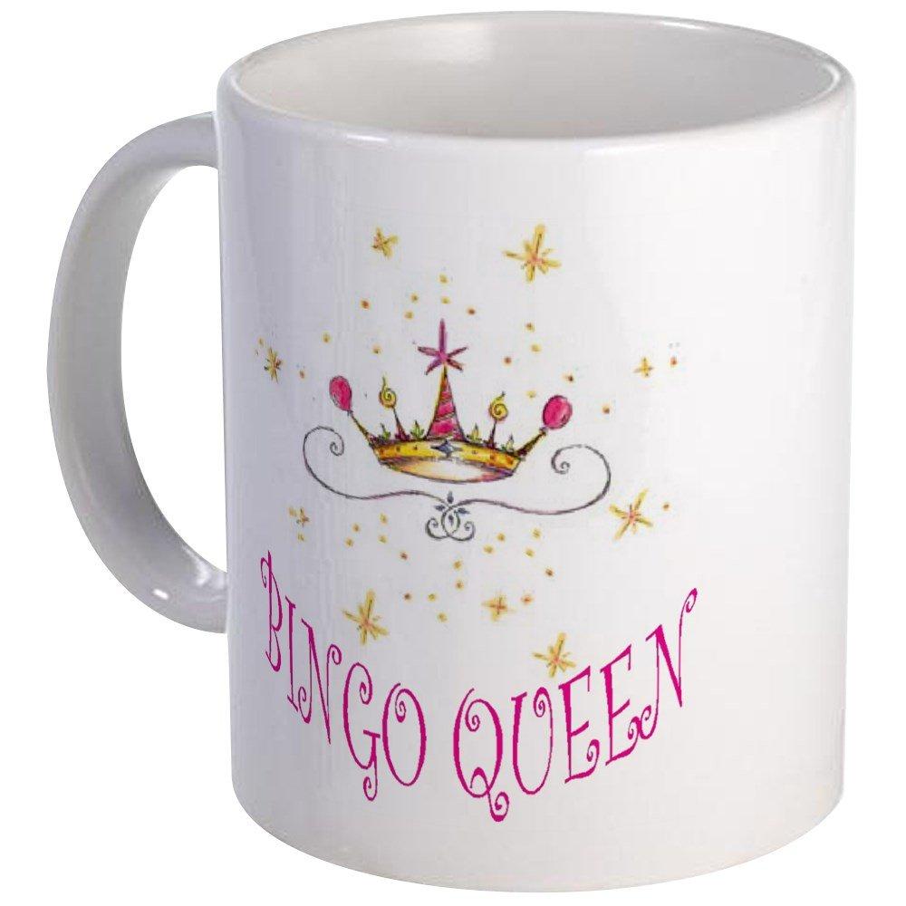 CafePress - BINGO QUEEN Mug - Unique Coffee Mug, Coffee Cup