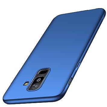 Adamarkeer Funda Galaxy A6 2018, Galaxy A6 Plus 2018 Carcasa Case Bumper Ultra-Delgado Anti-rasguños Estuche Shockproof Protectora Caso Cover para ...